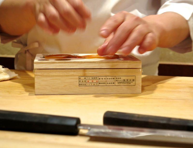 Chef Hisayoshi Iwa hands 2 © Tokyo Food File