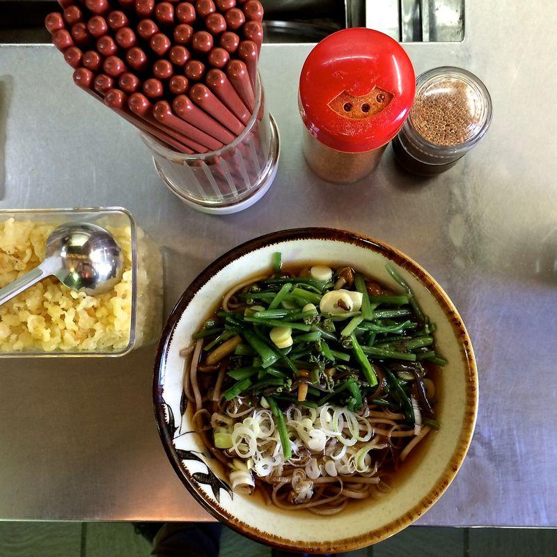 Sansai soba © Tokyo Food File