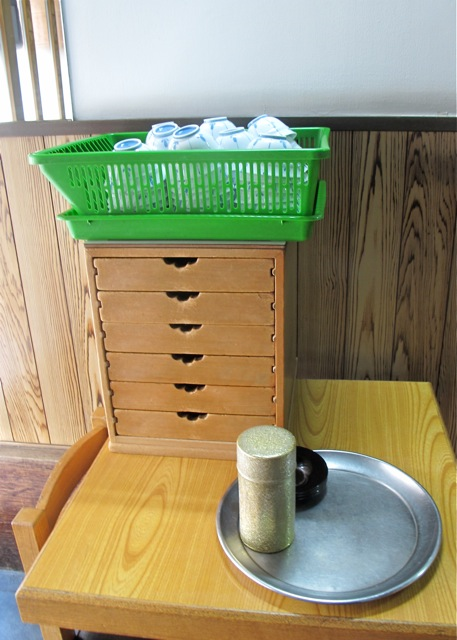 Matsuyoshi drawers © Tokyo Food FIle