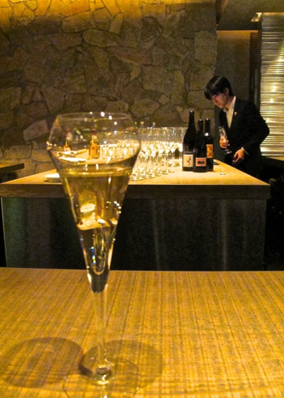 Cork bubbles © Tokyo Food File