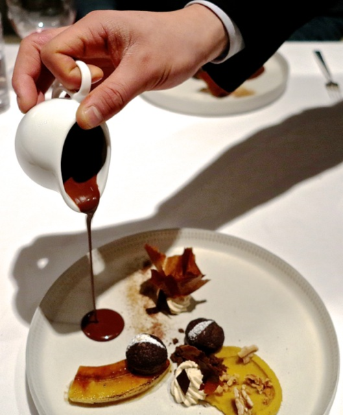 Tirpse chocolate sauce © Tokyo Food File