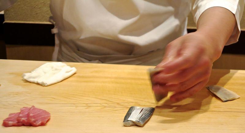 Chef Hisayoshi Iwa hands 1 © Tokyo Food File