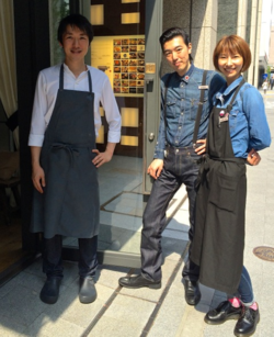 La Bonne Table team © Tokyo Food File