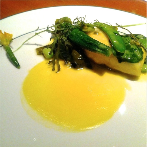 Garance @ Girandole hirame plate © Tokyo Food File