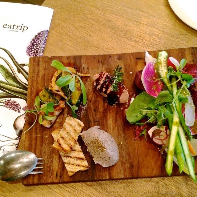 Eatrip starter plate © Tokyo Food File