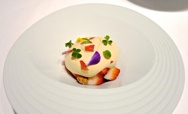Tirpse mousse © Tokyo Food File