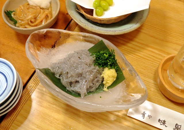 Ajisen nama-shirasu © Tokyo Food File