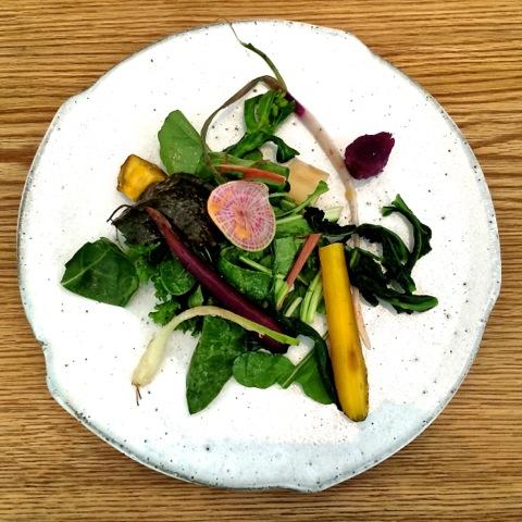 La Bonne Table Asano Salad © Tokyo Food File