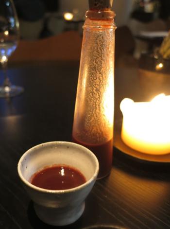 La Bonne Table juice © Tokyo Food File