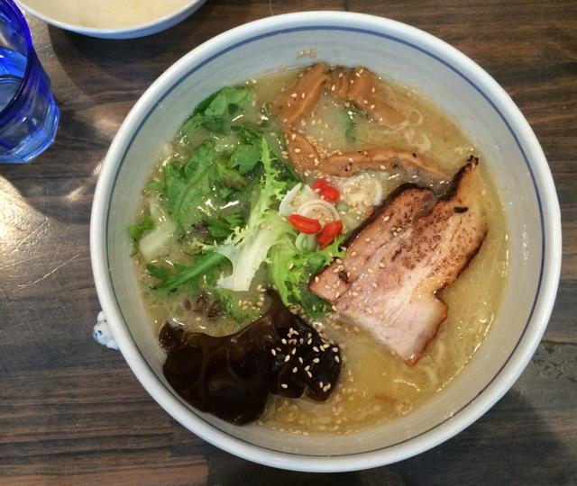 Ichikanjin shio ramen © Tokyo Food File