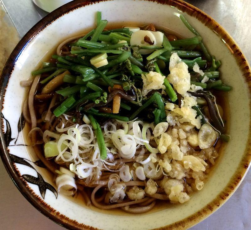 Sansai soba closeup © Tokyo Food File