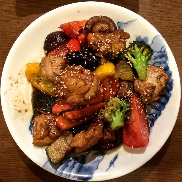 Nakamura Shokudo chicken itame © Tokyo Food File