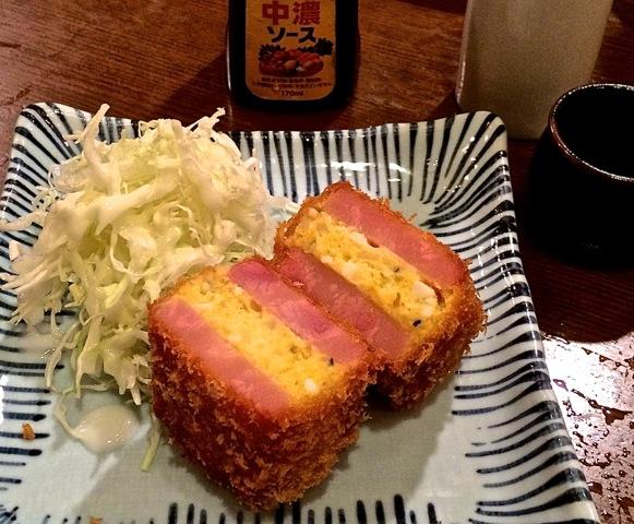 Nakamura Shokudo spam katsu cutlet © Tokyo Food File