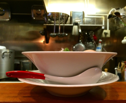 Tsuta ramen bowl © Tokyo Food File