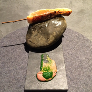 Florilege trout © Tokyo Food File
