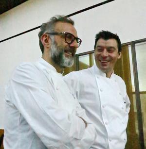 Massimo Botturo x Luca Fantin © Tokyo Food File