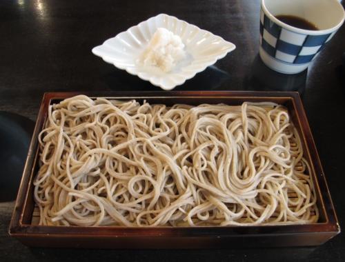 Matsubara-an karami-soba ©Tokyo Food File