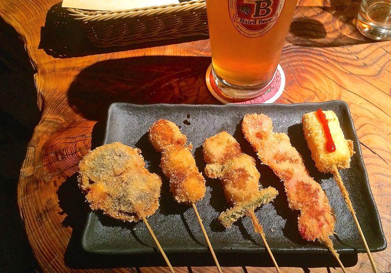 Baba Taproom kushiage © Tokyo Food File