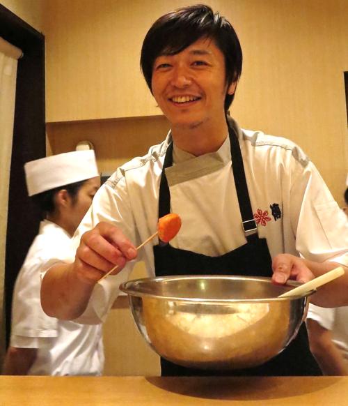 den-florilege chef kawate © Tokyo Food File