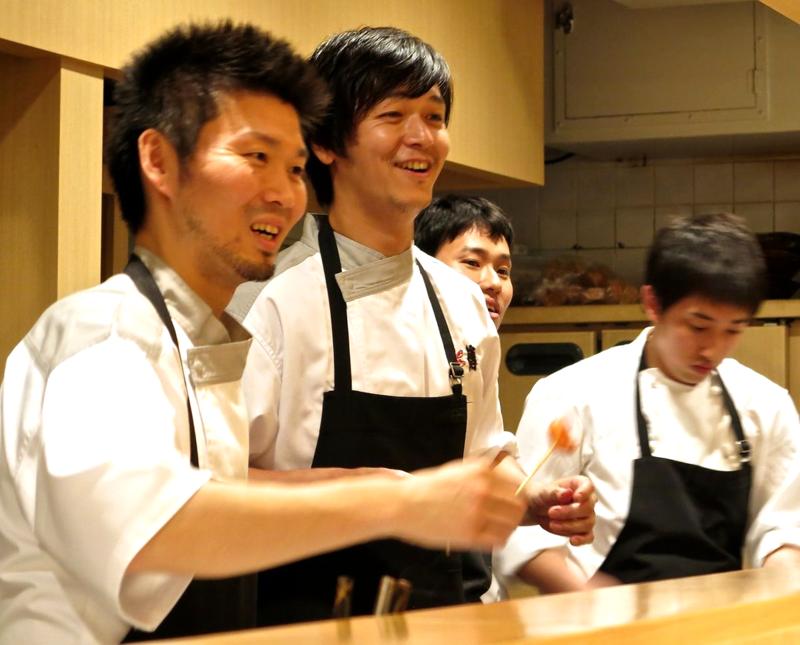 den-florilege 2 chefs © Tokyo Food File