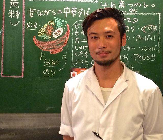 Nakamura Shokudo Saito-san © Tokyo Food File