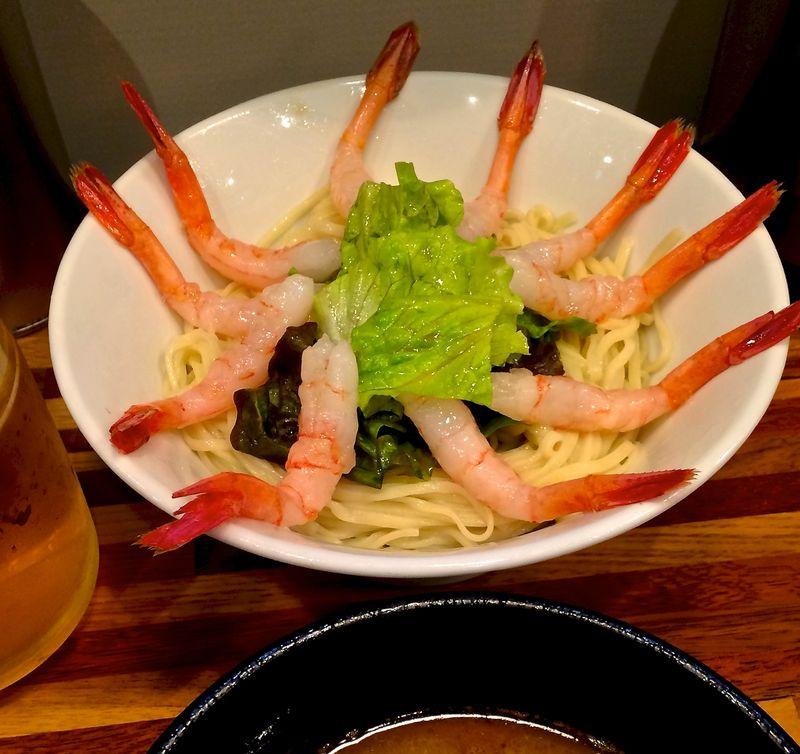 Gonokami Suisan - ebi tsukemen 1