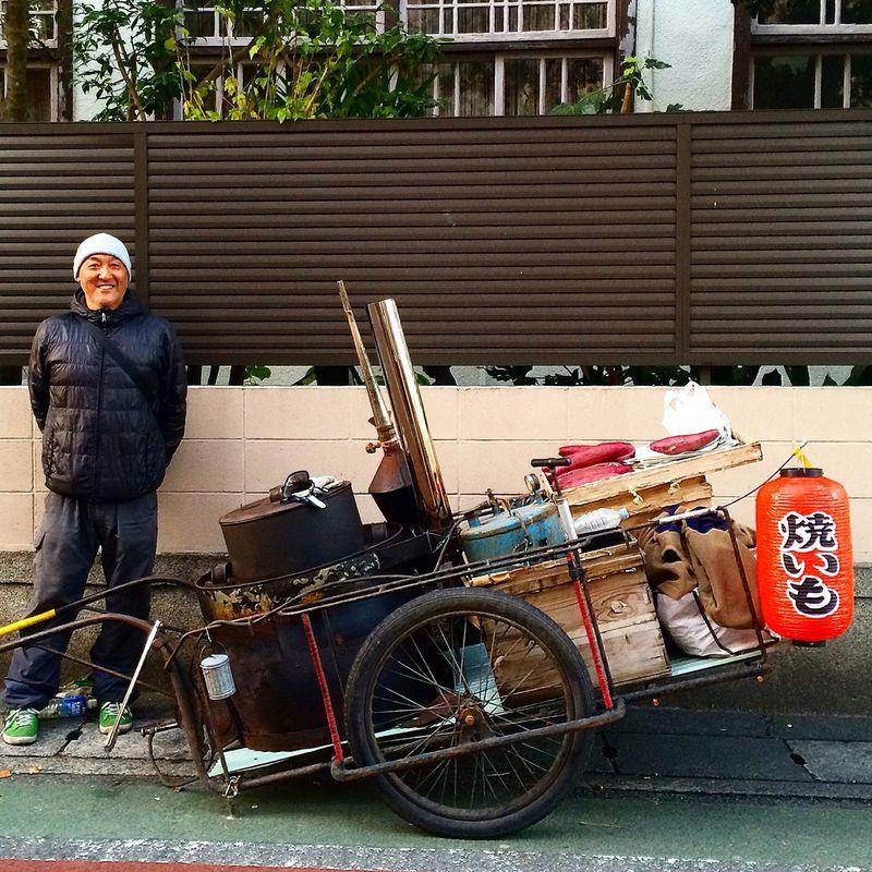 Yakiimo cart © Tokyo Food File