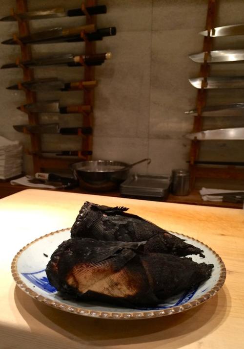 Kurogi shirako takenoko knives © Tokyo Food File