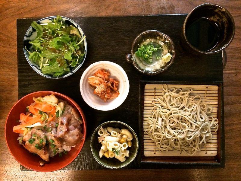 Kamiyama lunch set © Tokyo Food File