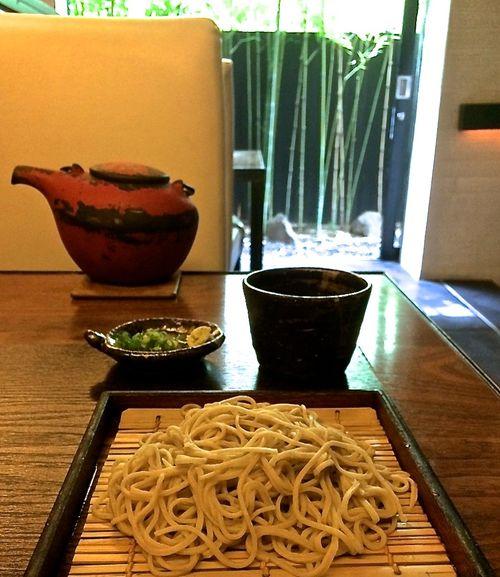 Kamiyama table soba © Tokyo Food File