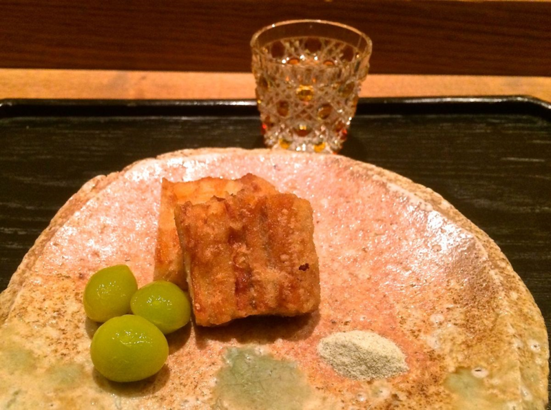 Kohaku unagi © Tokyo Food File