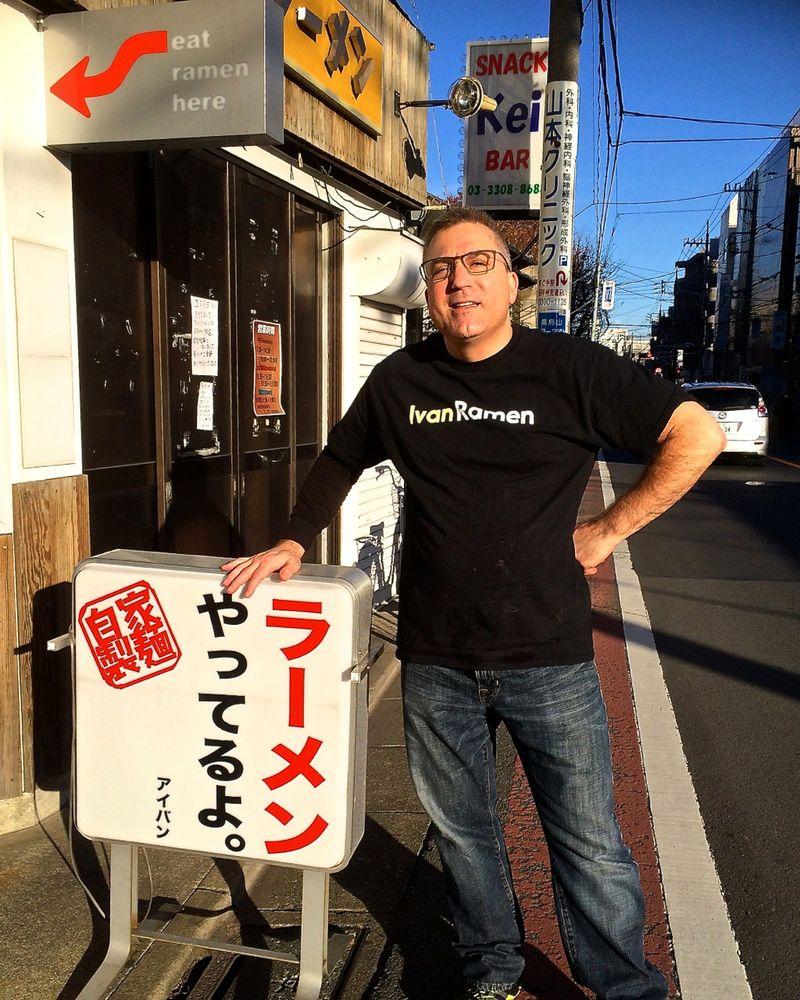Ivanramen sign © Tokyo Food File