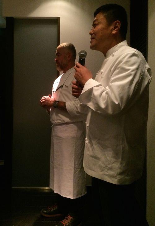 Alex speech © Tokyo Food File