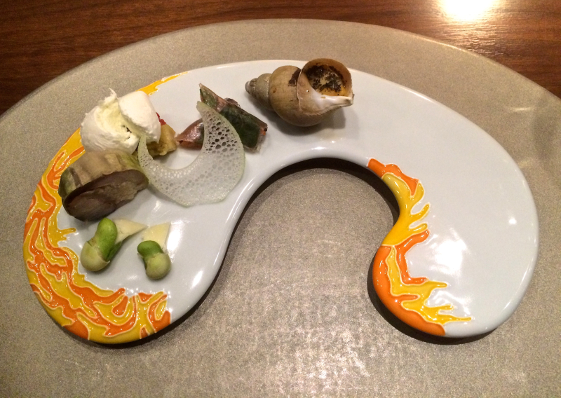 Erba da nakahigashi - appetizer plate