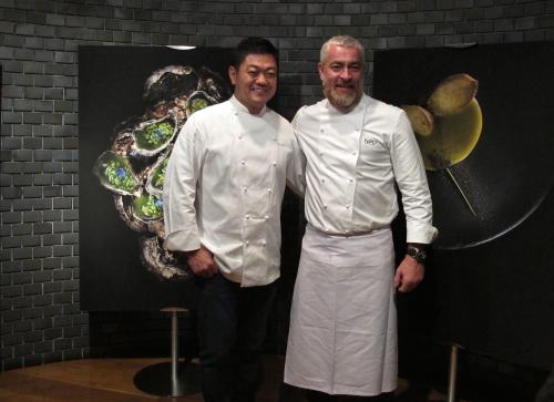 Alex Atala + Yoshihiro Narisawa © Tokyo Food File