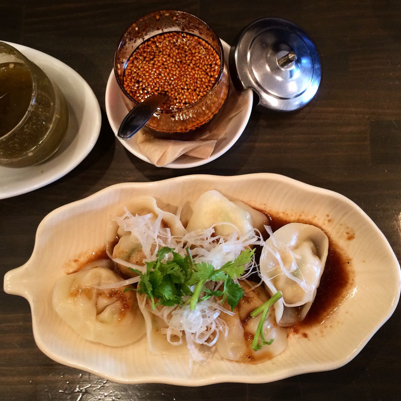 ichikanjin ebi+kuwai suigyoza © Tokyo Food File