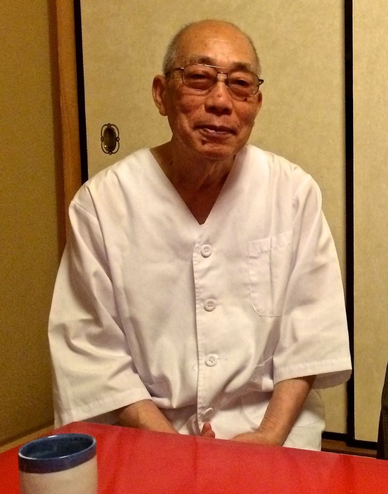 Nabeya Chef Fukuda © Tokyo Food File