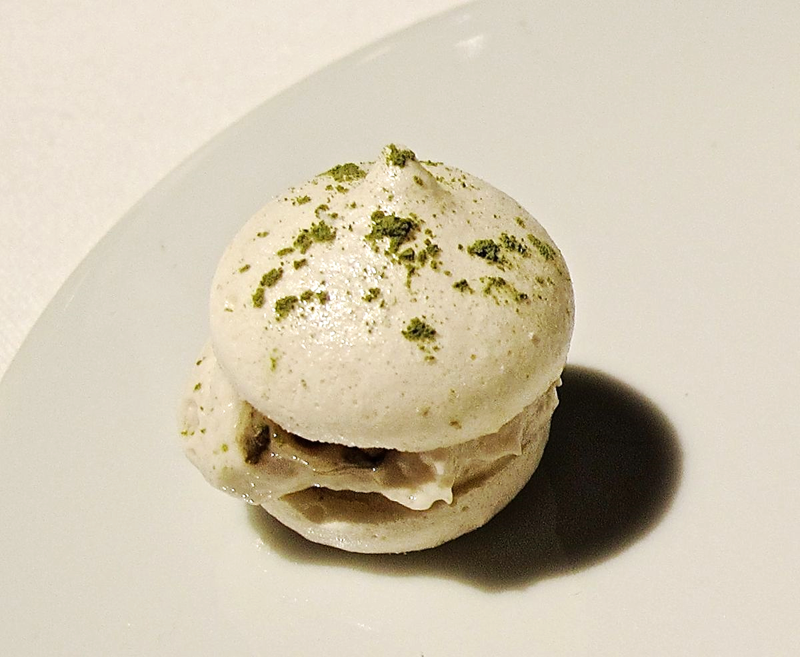 francescana anchovy oyster macaron © Tokyo Food File