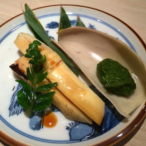 Kurogi shirako takenoko aoyose © Tokyo Food File