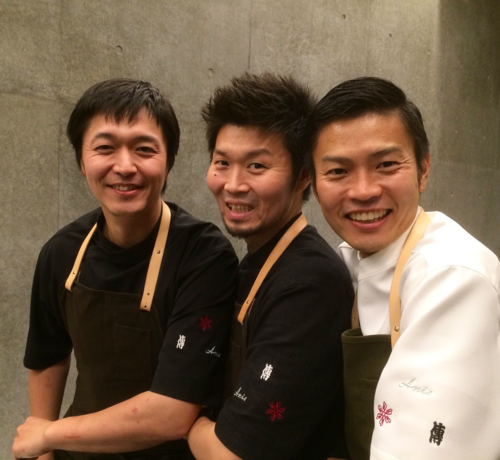 3 chefs dream team November © Tokyo Food File