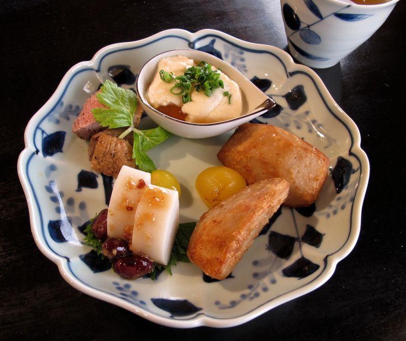 Matsubara-an zensai ©Tokyo Food File