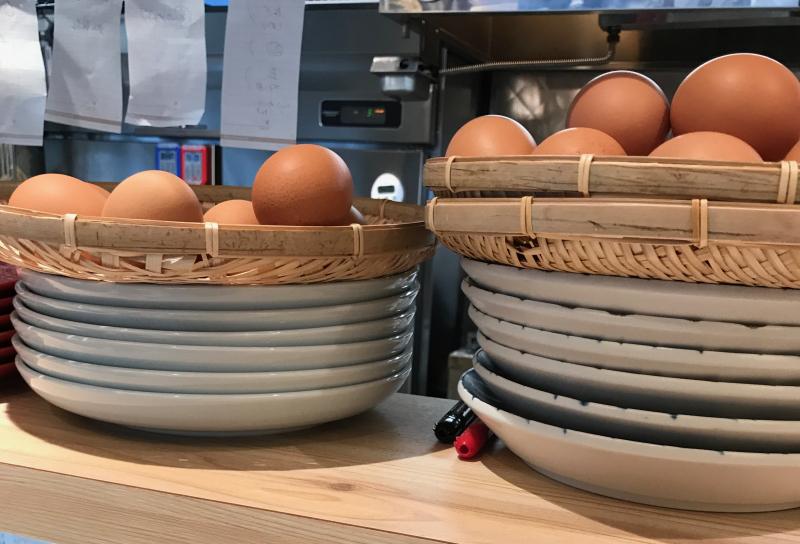 Men Chirashi eggs © Tokyo Food File