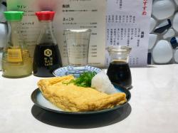 Men Chirashi - dashimake tamago omelette © Tokyo Food File