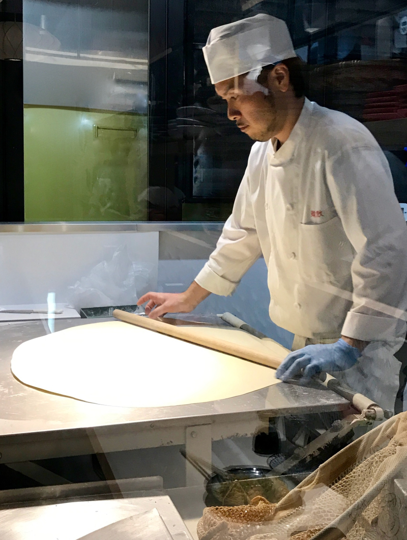 Men Chirashi - hand rolled noodles 2