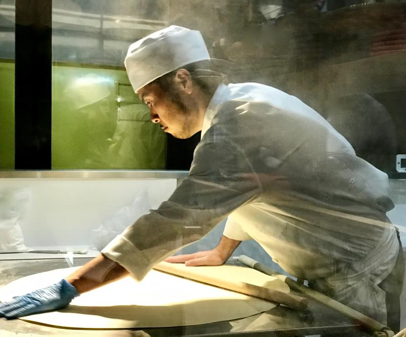 Men Chirashi - hand rolled noodles 1